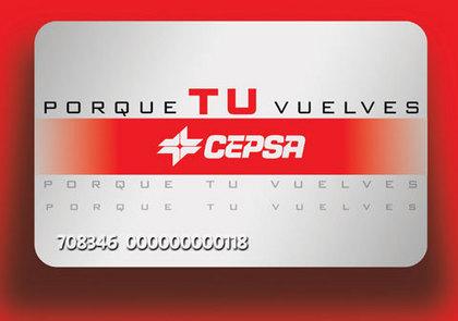 Tarjeta Visa CEPSA  una buena tarjeta de descuentos