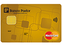 Tarjeta Debito Oro Contactless Banco Pastor