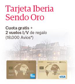 Tarjeta Iberia SENDO Oro