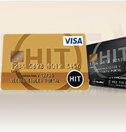 Tarjeta VISA Oro HIT de FinConsum