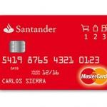 Tarjeta de Crédito 123 Santander
