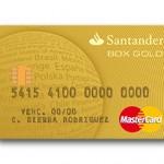 Tarjeta de Crédito Box Gold Santander