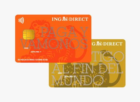 Tarjetas MasterCard  ING Direct