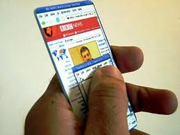 tarjeta de credito tactil